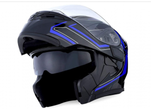 1Storm HB-B89Clear - Best Cheap Bluetooth Motorcycle Helmet