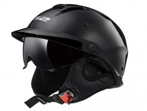LS2 Helmets Rebellion - Best Double Visor Half Helmet