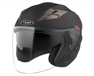 YEMA YM-627 - Best Open Face Helmet For Adventure